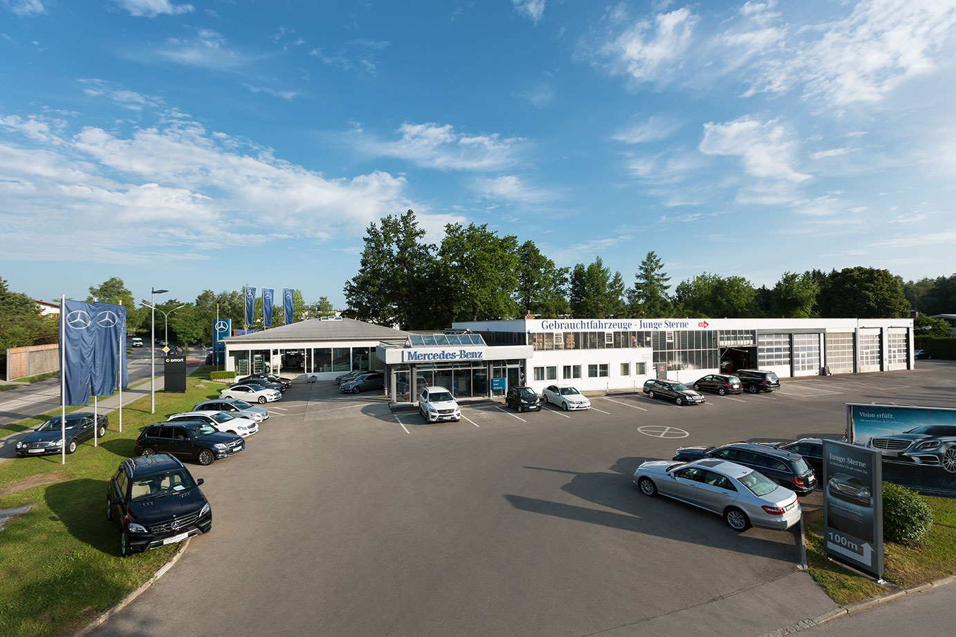 Mercedes-Benz und smart Showroom Penzberg