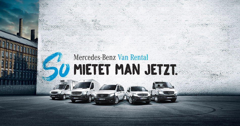 Mercedes-Benz Van Rental